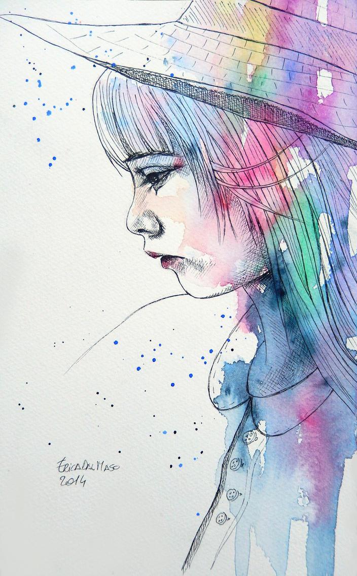 Little girl by ericadalmaso