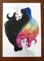 Duality limited edition signed and numbered print by ericadalmaso
