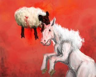 Bad Unicorn by Odjinn
