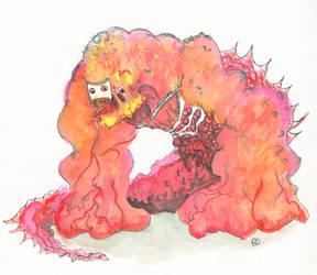 Monstre machin by Odjinn