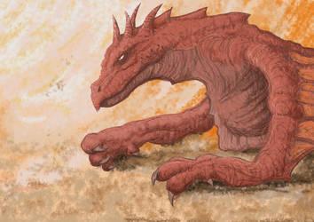 Dragon by Odjinn