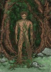 Treeman by Odjinn
