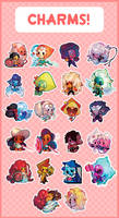 Steven Universe Charms~