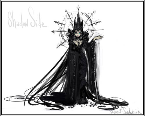 SKETCH of The Shadow Side