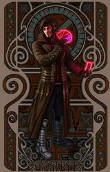 Art Nouveau Gambit by Razvan-Sedekiah