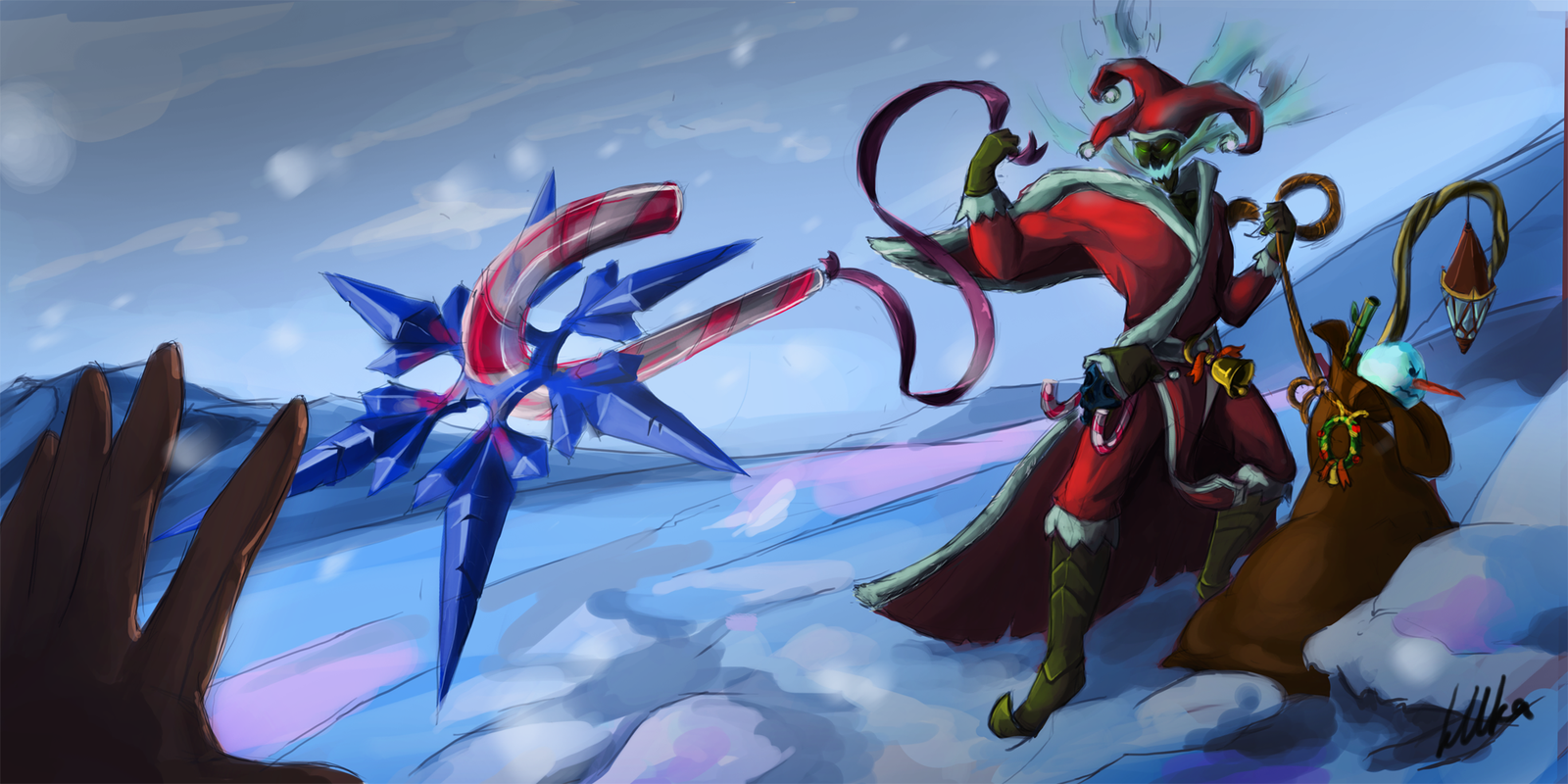 Thresh Stole My Christmas by kUkara4