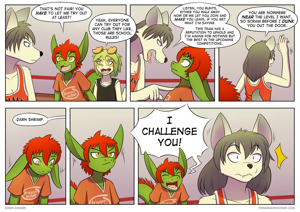 Twin Dragons page 80: Challenge the wolf by TheNekoboi