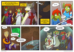 Twin Dragons page 148: The wolf and the hammer by TheNekoboi