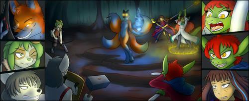 [Commission] Kitsune encounter by TheNekoboi