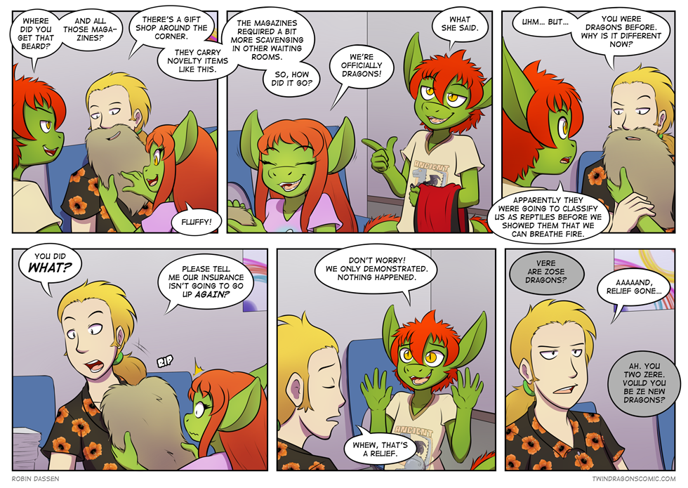 Twin Dragons page 244: Relief cycle