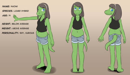 [Commission] Naomi Ref sheet