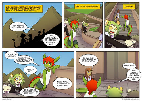 Twin Dragons page 271: Stairway to Heavens Palace
