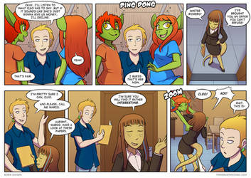 Twin Dragons page 289: Business snek
