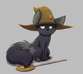 Magical kitty Near