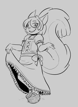 Squirrel Maid