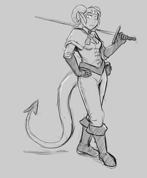 Another tiefling