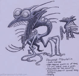 Abyssal Mawblin