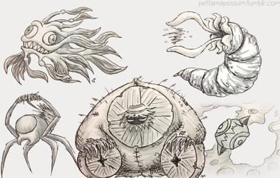Sketch Critter Compilation 15 by pettamapossum