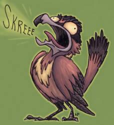 Screechy Pestrel (Colored)