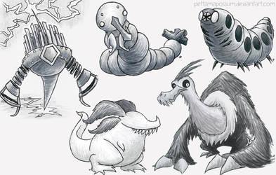 Sketch Critter Compilation 45