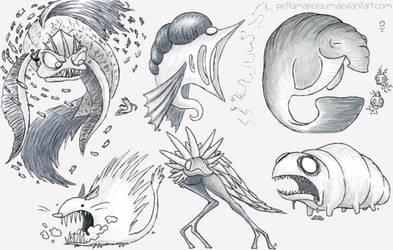 Sketch Critter Compilation 46