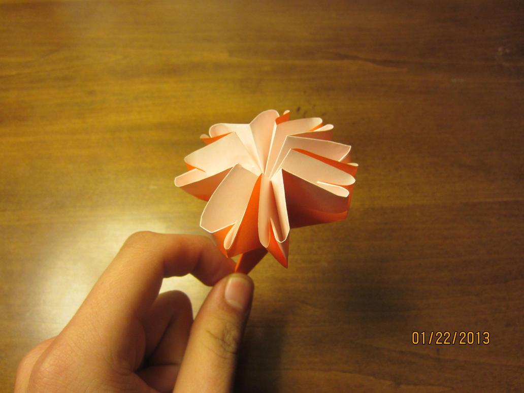 Daily origami 4 carnation flower by naganeboshni on deviantart daily origami 4 carnation flower by naganeboshni mightylinksfo
