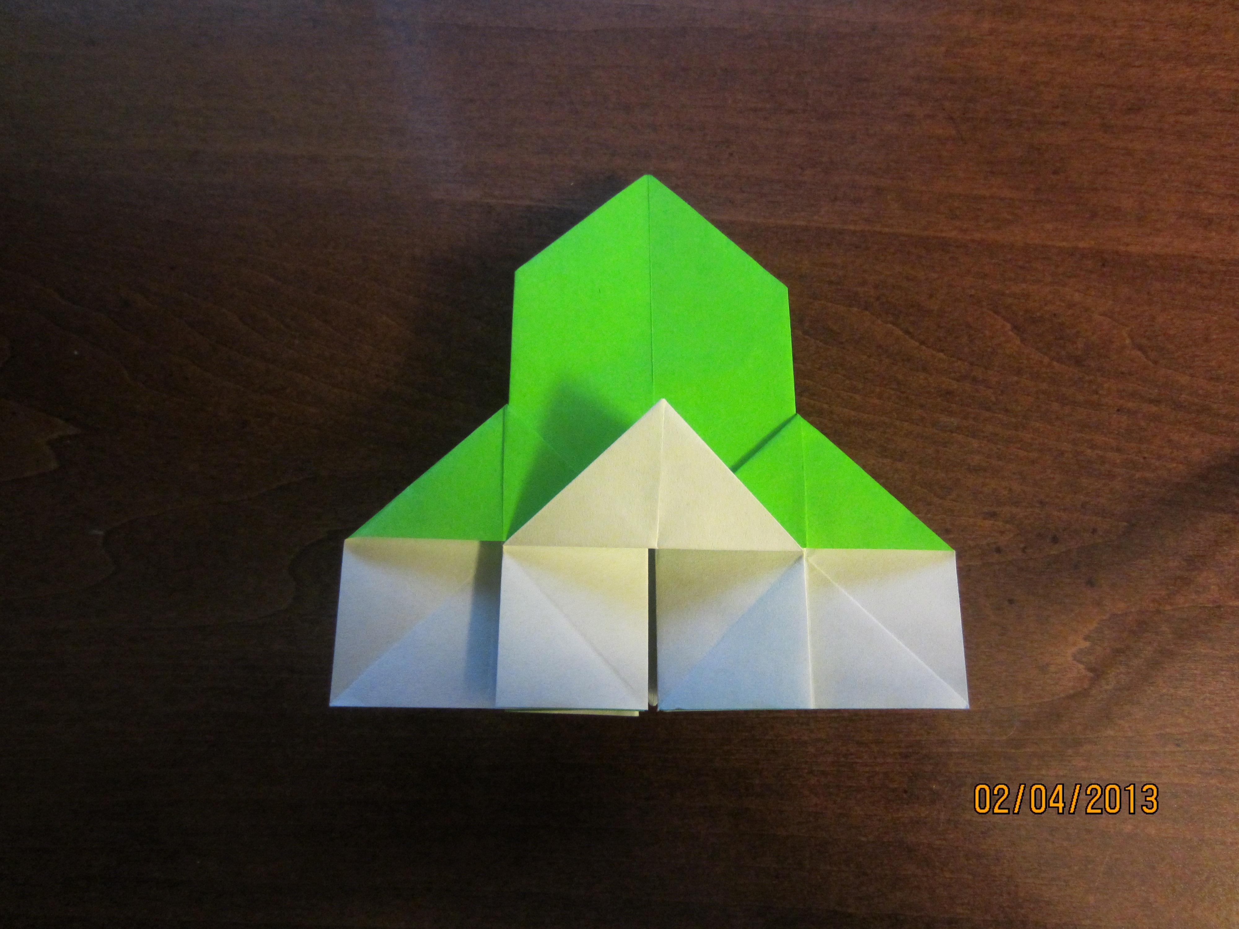 daily origami 15 castle by naganeboshni on deviantart