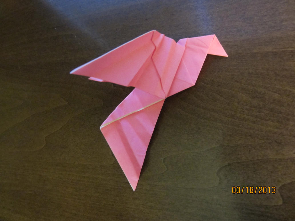 Daily Origami #39: Peace Dove by Naganeboshni on deviantART - photo#20