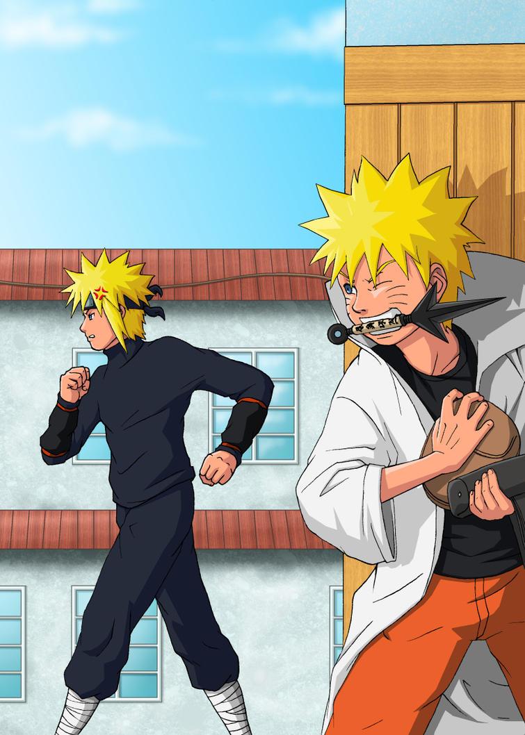 Naruto Tensei -Chap 3 -Cover by nekoni
