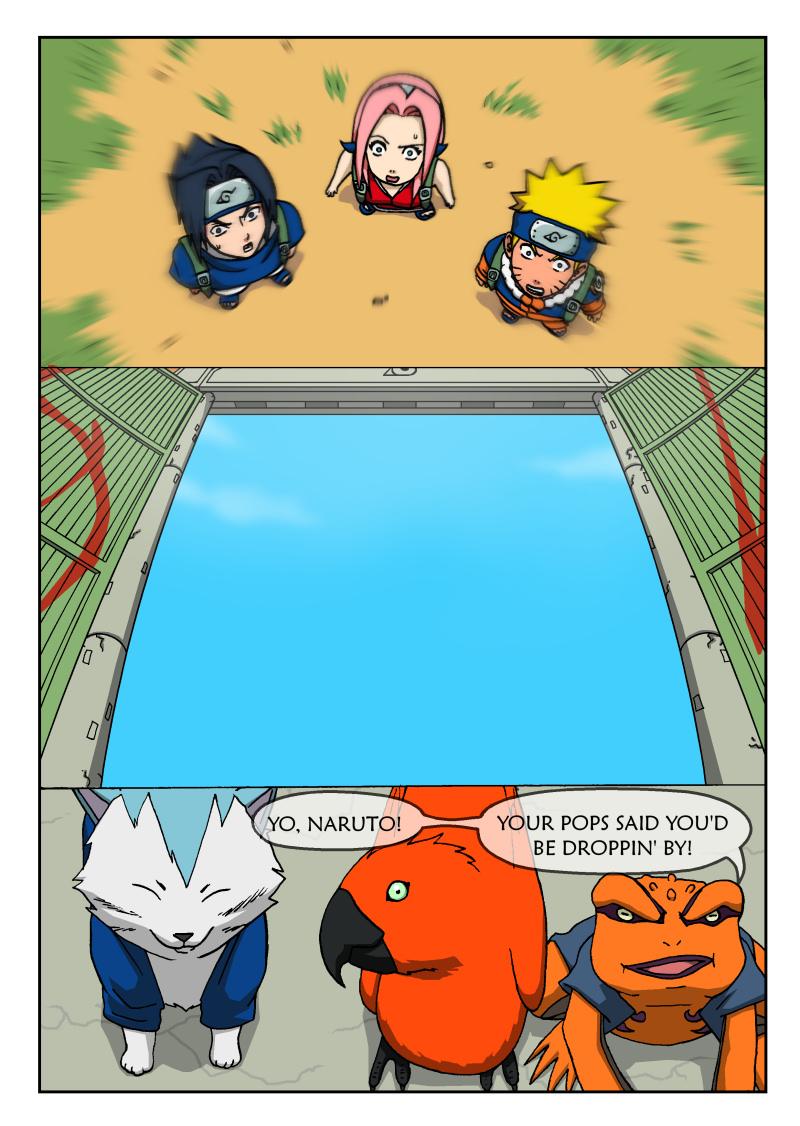Naruto Tensei -Chap 3 -Page 1 by nekoni