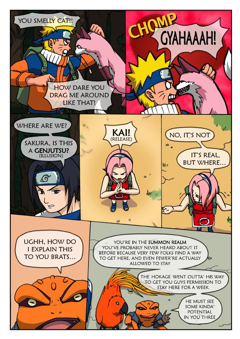 Naruto Tensei -Chap 3 -Page 2 by nekoni