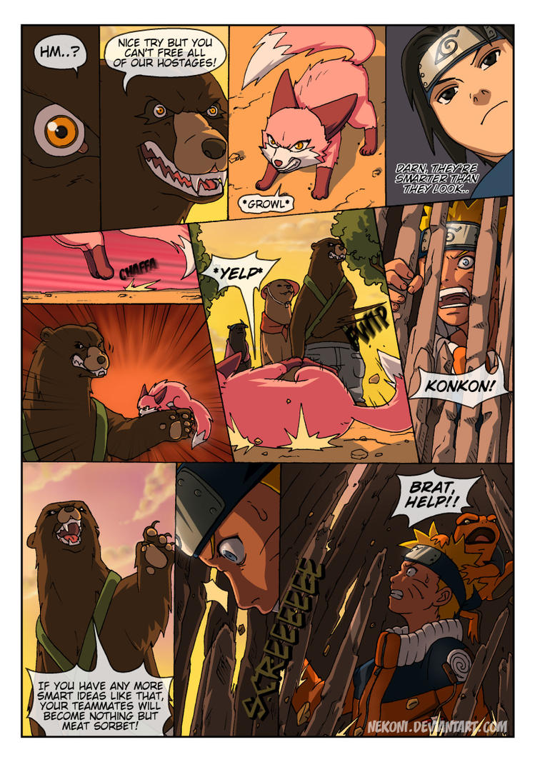 Naruto Tensei -Chap 4 -Page 8 by nekoni on DeviantArt Naruto X Fem Kyuubi Fanfic