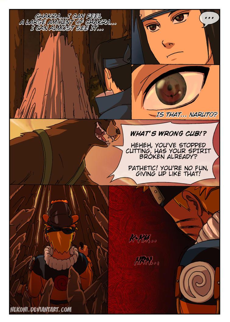 Naruto Tensei -Chap 4 -Page 12 by nekoni on DeviantArt Naruto X Fem Kyuubi Fanfic