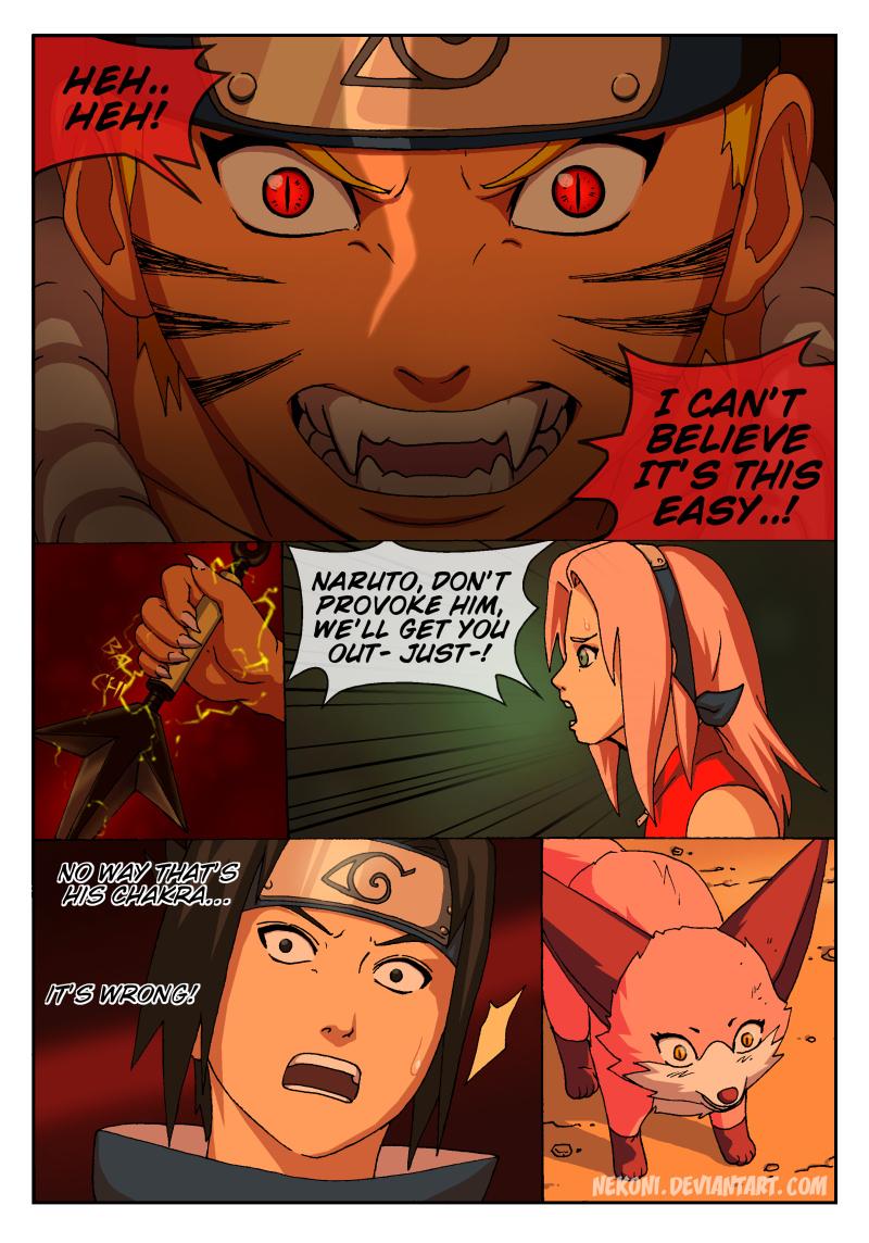 Naruto Tensei -Chap 4 -Page 13 by nekoni on DeviantArt Naruto X Fem Kyuubi Fanfic