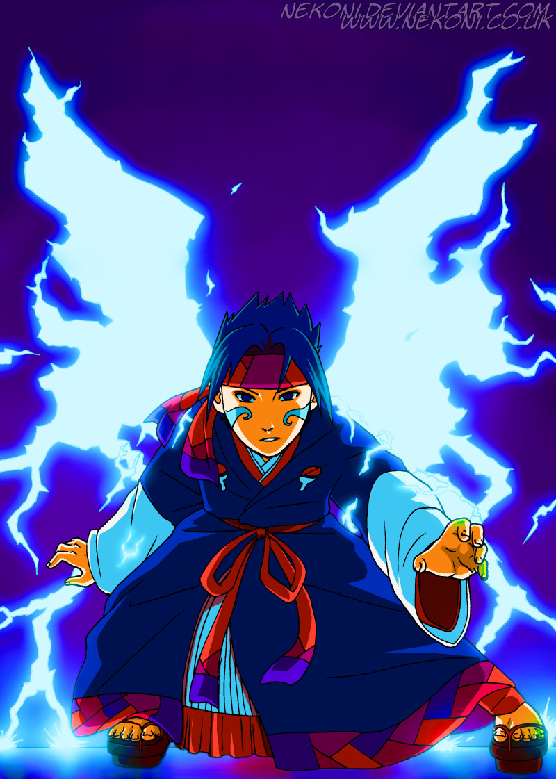 Naruto Tensei Chap 5 -Cover by nekoni