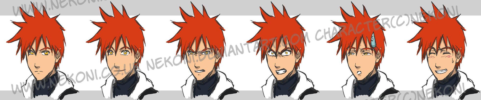 Fox Expressions by nekoni