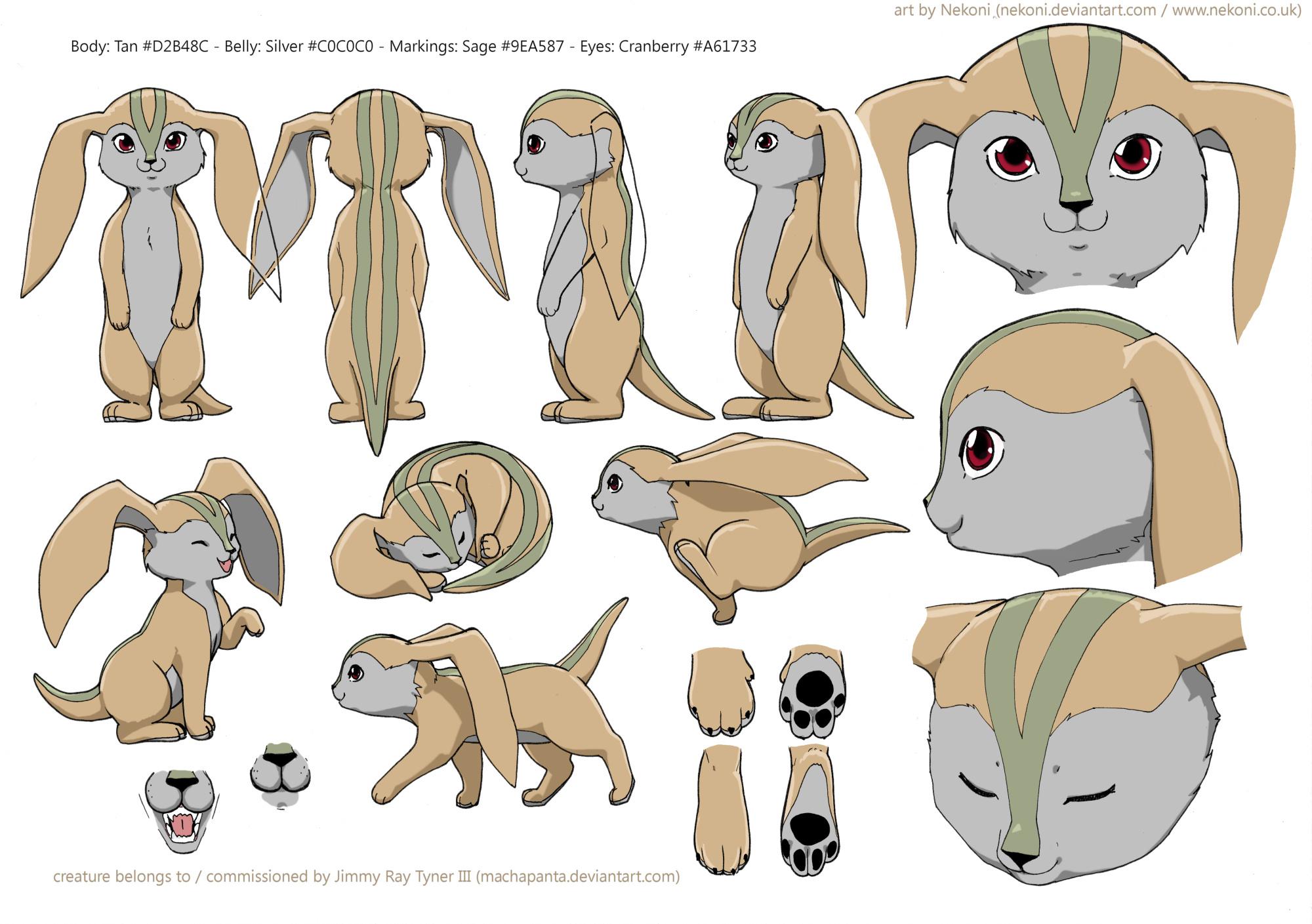 Elemental Character Sheet by nekoni
