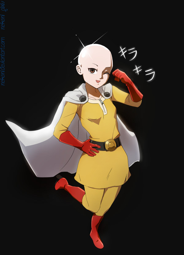 ONE PUNCH woMAN by nekoni