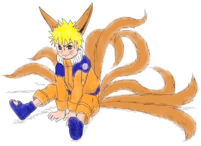 670 x 488 jpeg 81kB, Ninetails Naruto by nekoni on DeviantArt