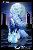 Tarot: The Moon by SheWolff