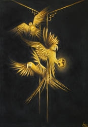 Golden Parrots of The Secret Jungle