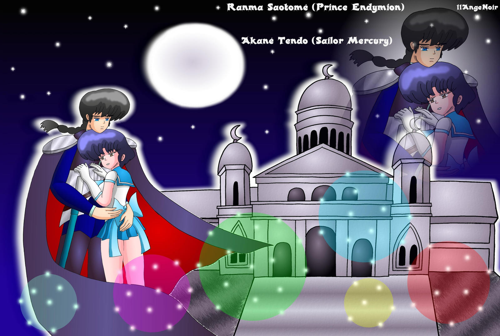 Sailor Moon Ranma Crossover Fanart Wallpaper By 11angenoir5 On