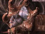 Vore Mutant Worm - Eaten Alive