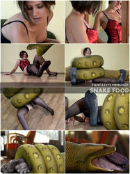 FantasyFetishShop Snake Food