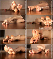 FantasyFetishShop Twitching Feet Model 1 Bare