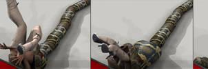 Snake Vore Animation
