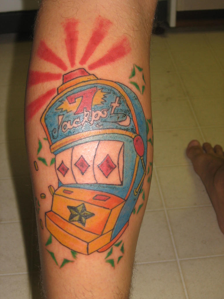 Slot machine tattoo by joshxurface on DeviantArt
