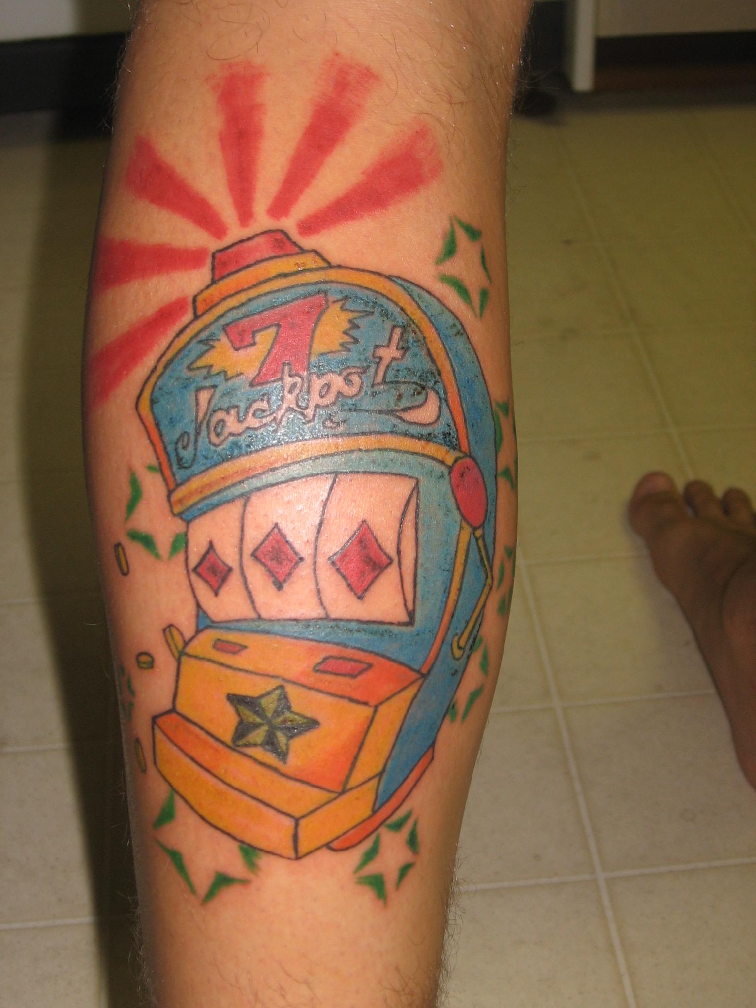 Slot Machine Tattoo