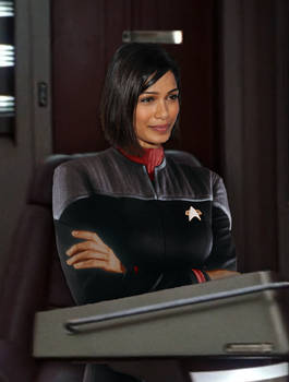 Lt. Commander Ke'Brinn Patel