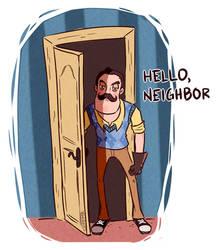 HEEEEEERE'S ...your neighbor by Greimz